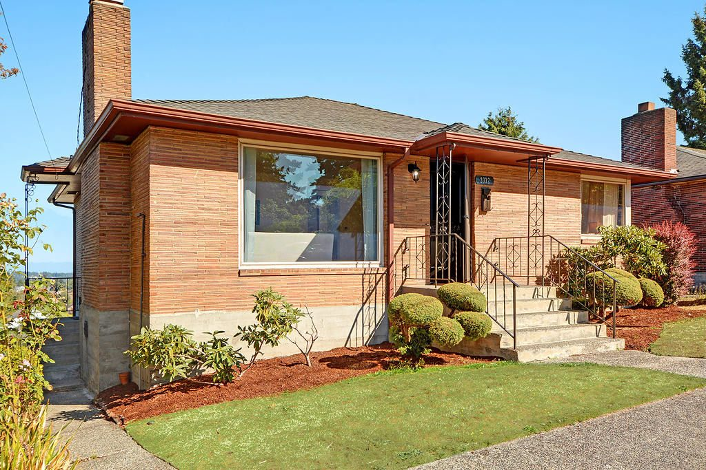 Prime North Beacon Hill location just 2.5 blocks to light rail station, showcasing Cascade mountain views and mid-century charm, available from the same family for the first time in 65 years.